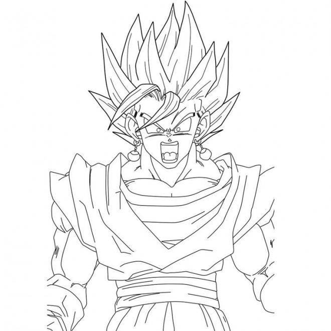 Dragon Ball Dessin Dragon Ball Z Combat