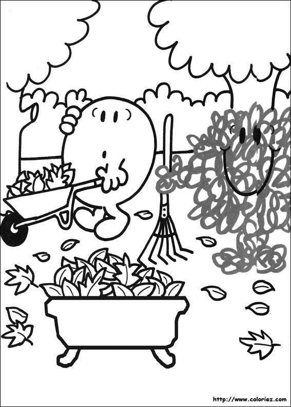 Coloriage Jardinage Maternelle Facile Dessin Gratuit A Imprimer
