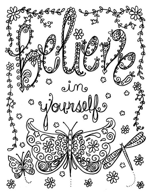'Believe in Yourself' ('Crois en toi')A partir de la galerie : Anti StressArtiste : Deborah Muller