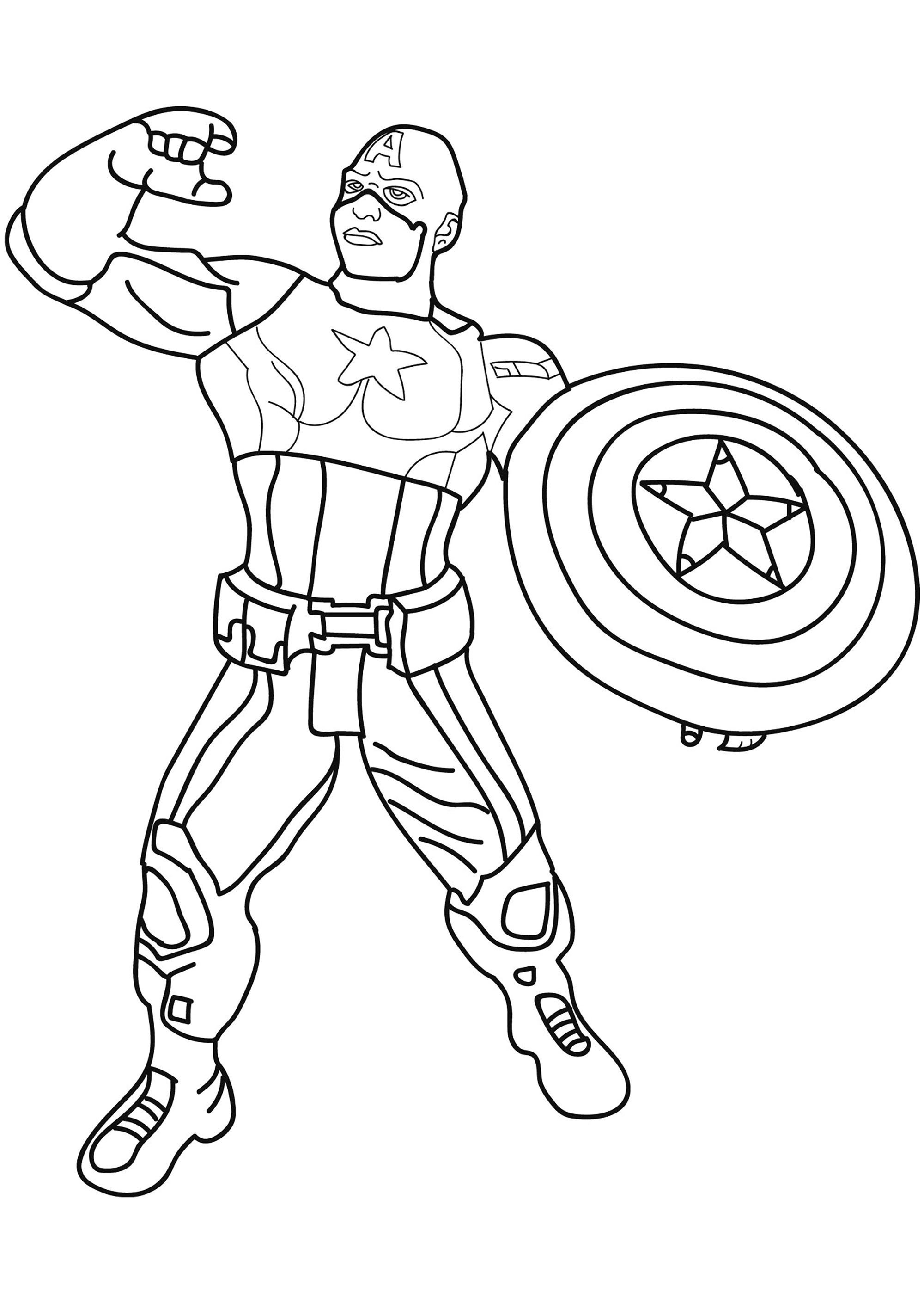 Ironman And Captain America Coloring Pages Best Of Captain