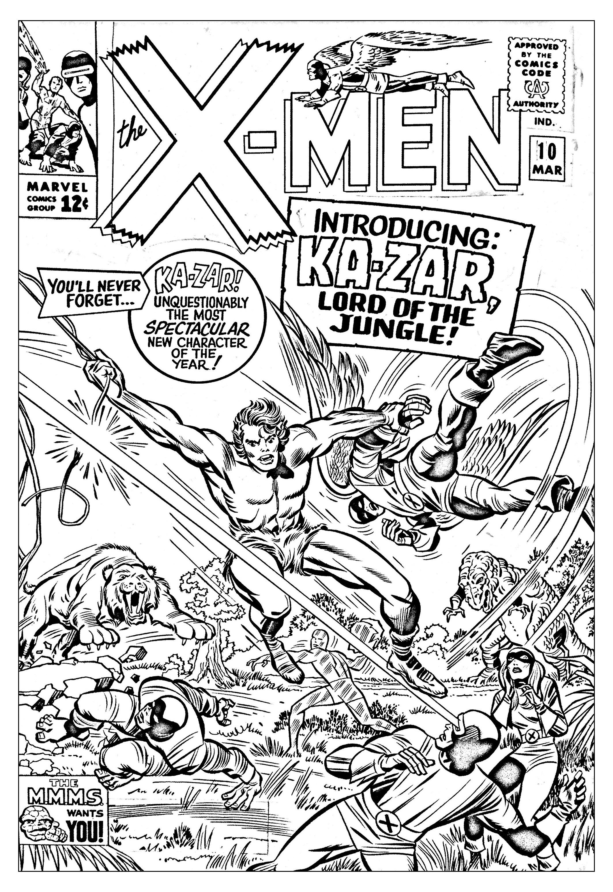 Pour Comics Xmen 1965 Couverture Inedite Gratuit A
