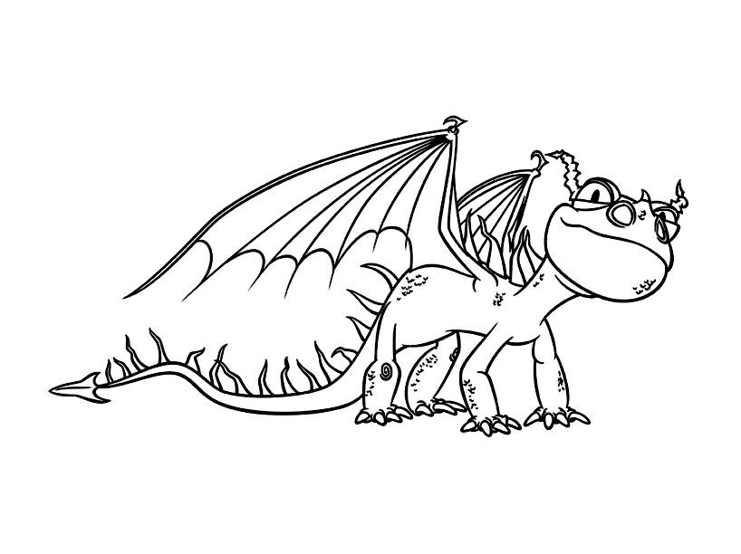 Dessin De Dragons Gratuit A Telecharger Et Colorier Coloriage Dragons Coloriages Pour Enfants
