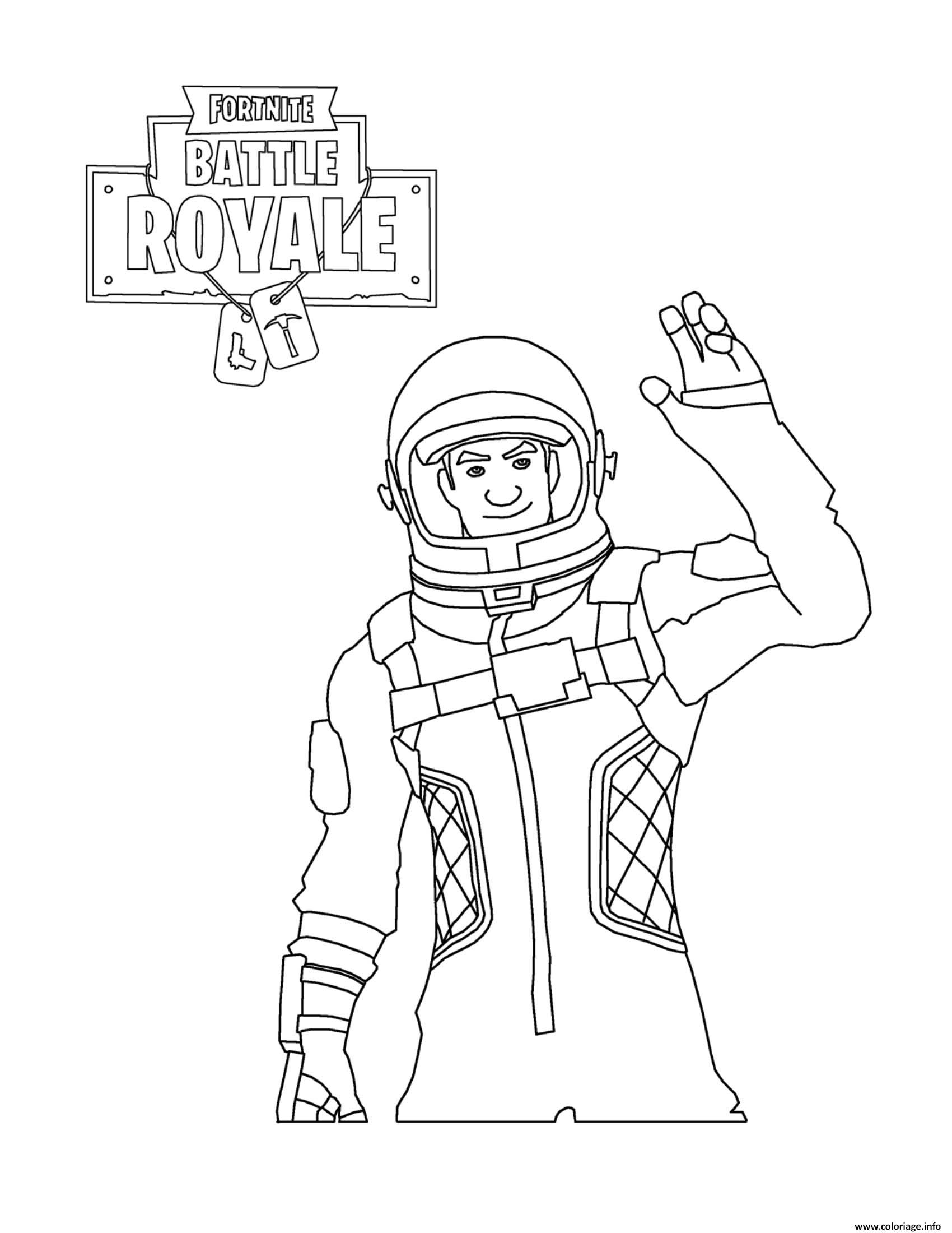Dj Lama Fortnite Coloring Pages