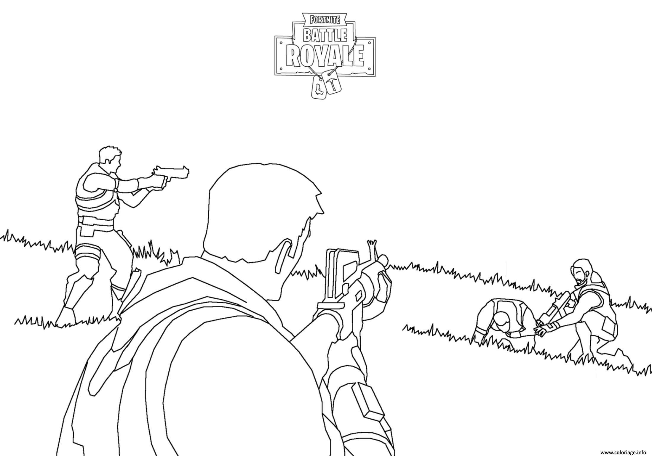 Fortnite Battle Royale Combat