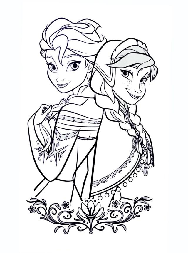 La reine des neiges disney 17 - Coloriage La reine des neiges