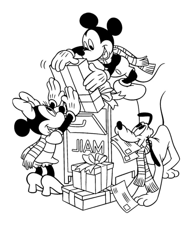 Download 22+] Coloriage Mickey Et Minnie Bebe