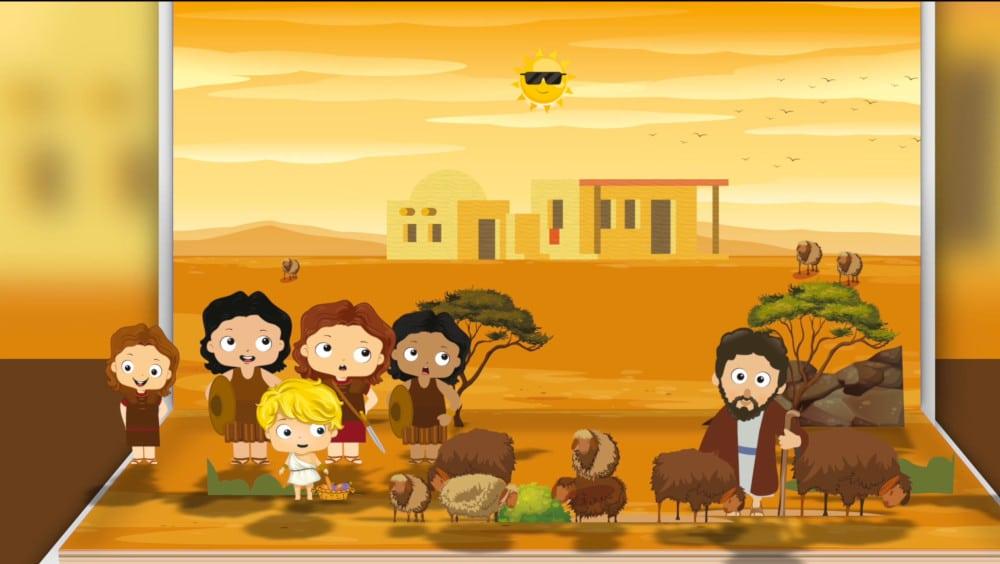 Cuento de David Y Goliat para niños