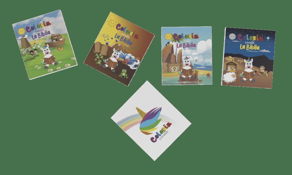 Biblia Infantil Colorin cuenta la Biblia