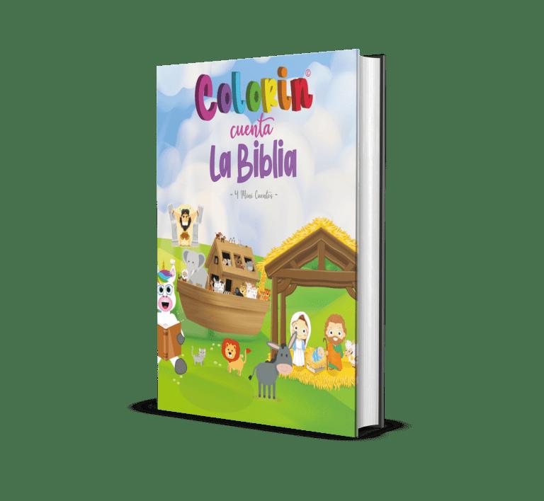 portada 4 mini cuentos de la biblia - Colorin Cuenta la Biblia