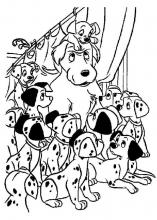 101 dalmatians coloring pages on coloring book info