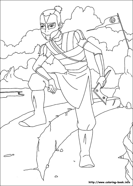 avatar coloring pages - photo#10