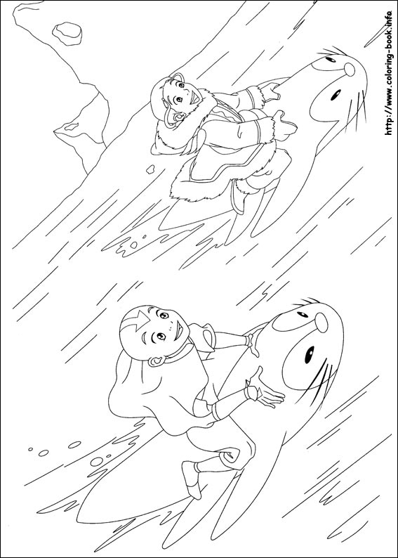 avatar coloring pages - photo#22