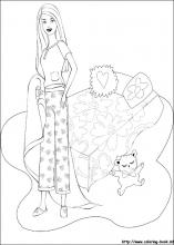 Barbie Coloring Pages On Coloring Book Info