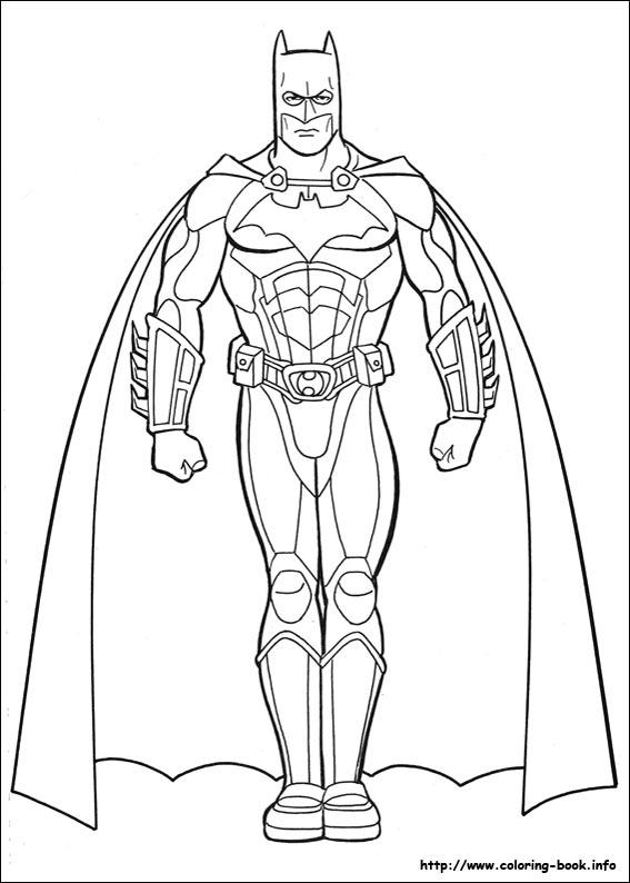 coloring pages of batman # 9