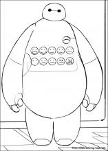 big hero 6 coloring pages on coloring book info
