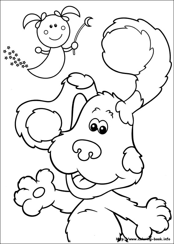 blue 39 s clues coloring picture