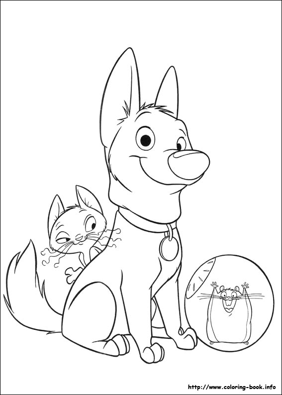 bolt coloring pages on coloring book info