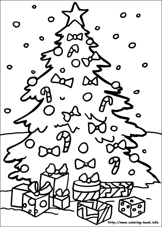 coloring christmas pages # 6