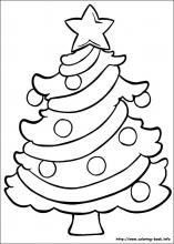 coloring christmas pages # 8