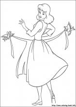 cinderella coloring pages on coloring book info