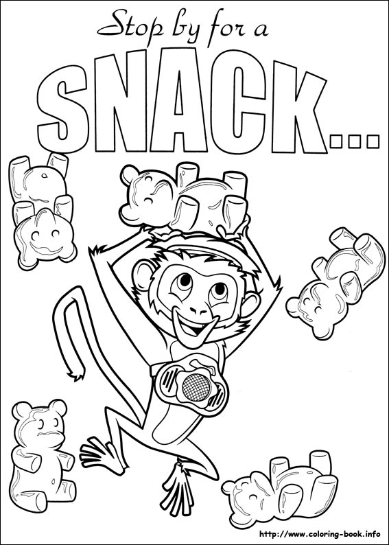 cloudy with a chance of meatballs coloring pages # 9