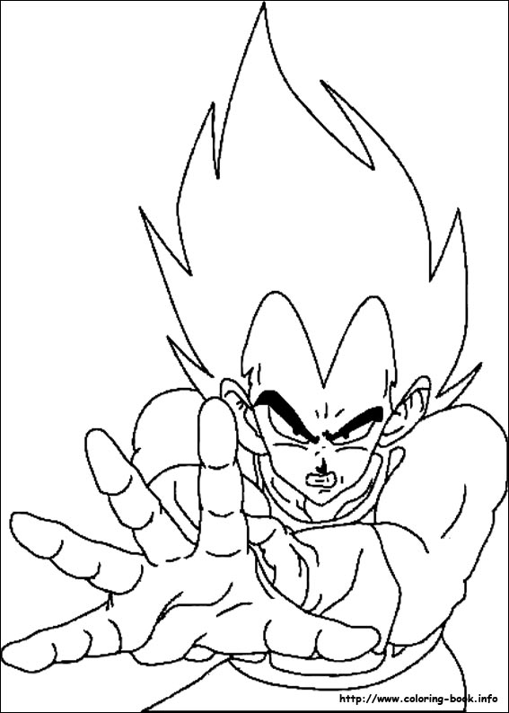 dragon ball z coloring pages on coloring book info