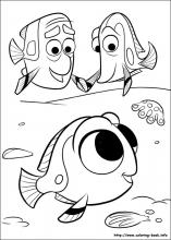 finding nemo coloring page # 6