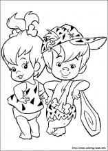 flintstones coloring pages # 1