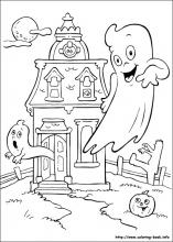 coloring pages halloween # 34