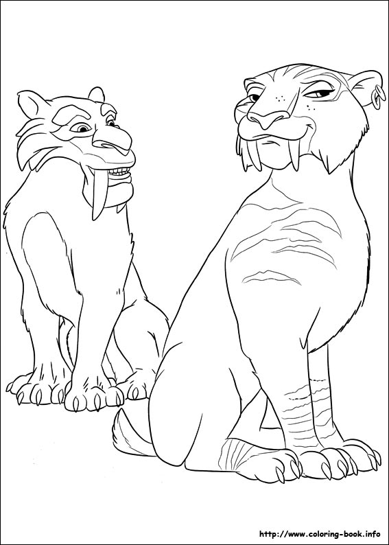 ice age continental drift coloring pages on coloring book info