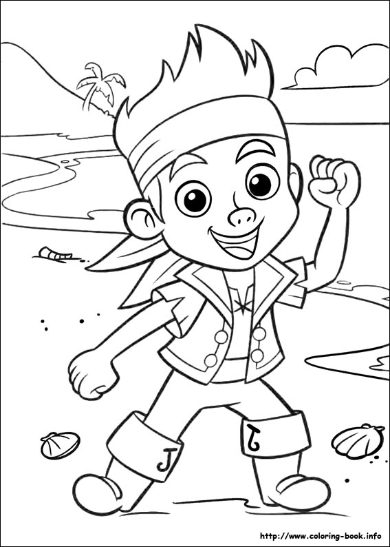 jake and the never land pirates coloring pages on coloring book info