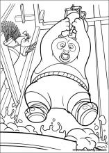 Kung Fu Panda 2 Coloring Pages On Coloring Book Info