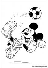 mickey coloring page # 11