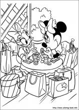 minnie mouse printable coloring pages # 62