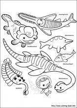 the octonauts coloring pages on coloring book info