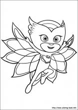 Pj Masks Coloring Pages On Coloring Book Info