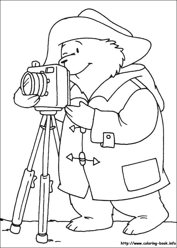 paddington bear coloring pages # 17