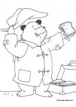 paddington bear coloring pages # 75