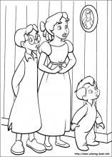 Peter Pan Coloring Pages On Coloring Book Info