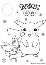 pokeman coloring pages # 19