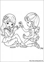 precious moments coloring pages on coloring book info