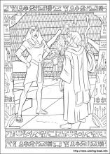the prince of egypt coloring pages on coloring book info