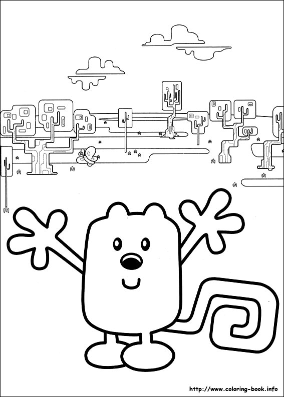 wow wow wubbzy coloring pages # 14