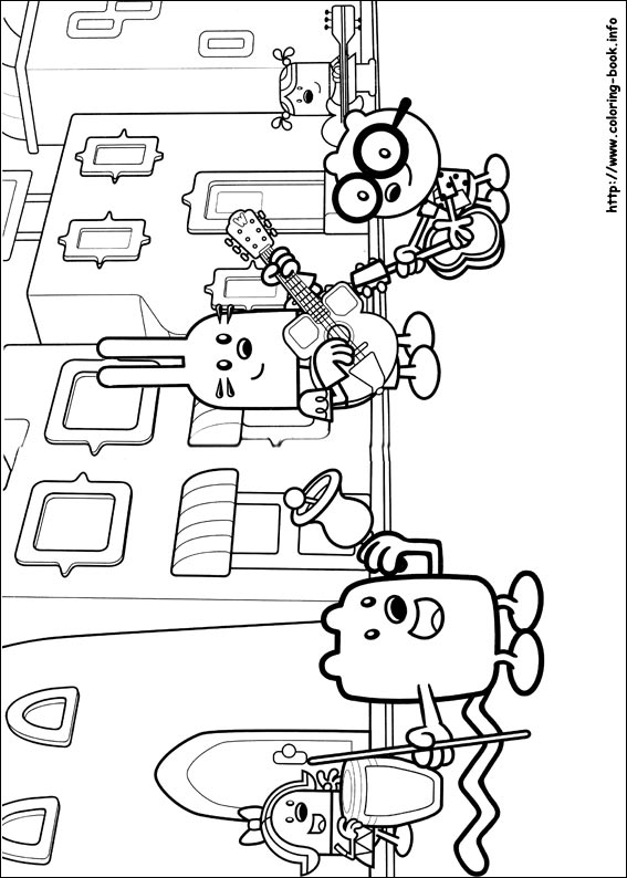 wow wow wubbzy coloring pages # 11