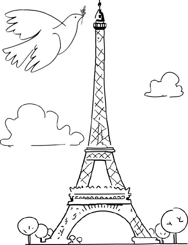 more coloring pages peace for paris peace for paris live in peace