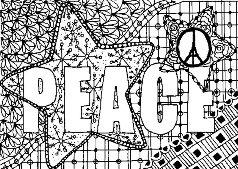 page peace for paris adult coloring pages adult coloring pages peace