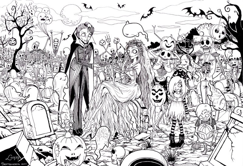 Kleurplaten Halloween Zombie.Halloween Zombie Coloring Pages Halloween Zombie Coloring Pages