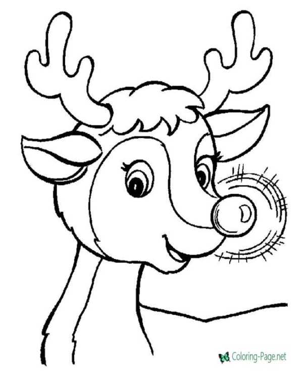 printable holiday coloring pages # 12