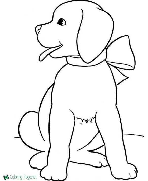 dog coloring pages printable # 0