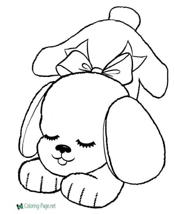 printable dog coloring pages # 76